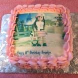 AM Girl Cake