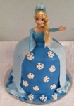 Frozen Doll Cake