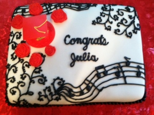 Graduation Cake music