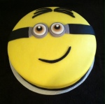Large Minion Cake