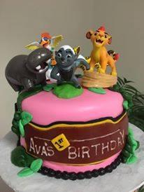 Lion Guard Cake2