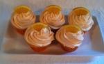 Orande Creamsicle Cupcakes