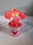 Pink Heart Pops