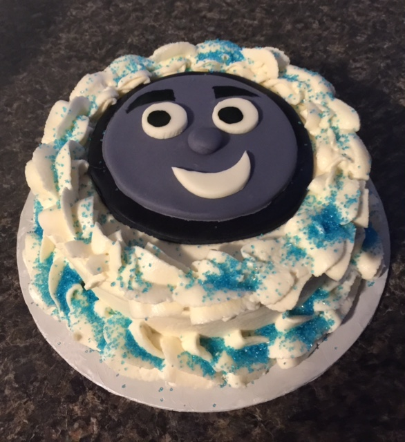 Thomas the Train Smash Cake