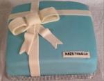 Tiffany Shower Cake
