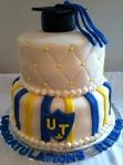 UT Grad Cake