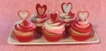 Valentine Cupcakes Swirl