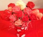 VD chocolate sucker bouquet