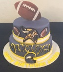 Vikings Cake Jared