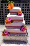 Wedding Cake Pink & Orange