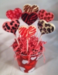 Wild About You Heart Pops
