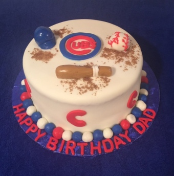 C Cubs Cake