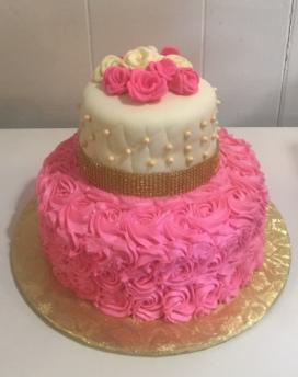 Pink 2 B Cake