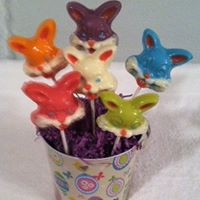 Easter Chocolate Lollipops 2