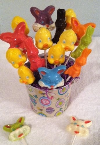 Easter lollipops 3